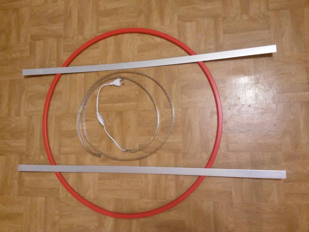 Relativ LED Dart Board Beleuchtung für Steel Darts selbst gemacht GK51
